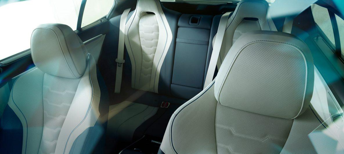 Luxuriöse Ledersitze BMW M850i xDrive Gran Coupé G16 2019 Innenraum