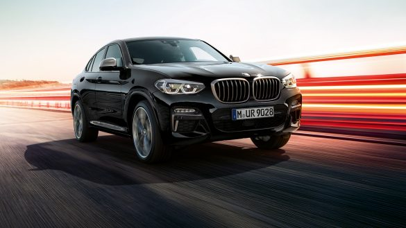 BMW X4 M Front rechts
