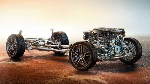 BMW 2er Coupé adaptives M Fahrwerk
