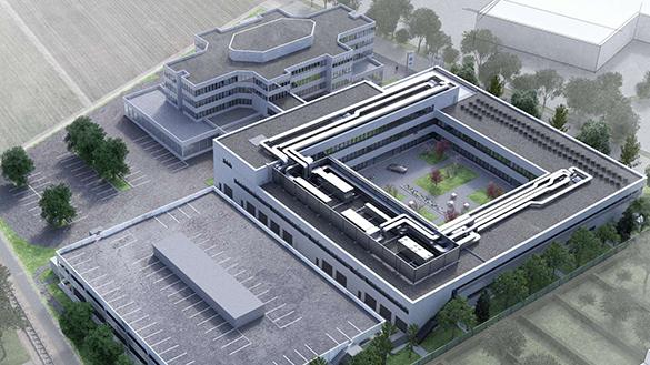 Campus Salzburg Rendering